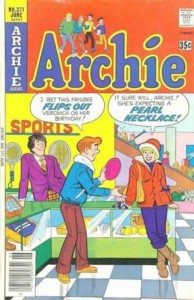 Archie doesn't know how kinky his girlfriend is